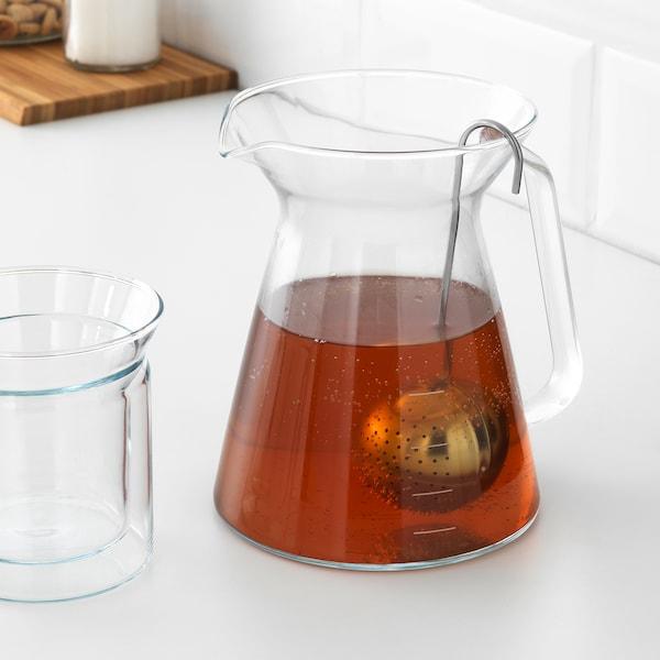 RÖRELSER Tea infuser for teapot, stainless steel