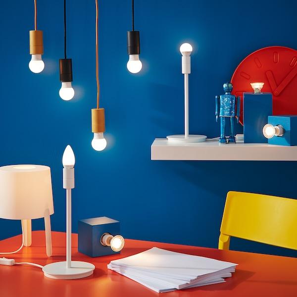 RYET LED bulb E14 200 lumen chandelier opal white 2700 K 200 lm 2.2 W 2 pack