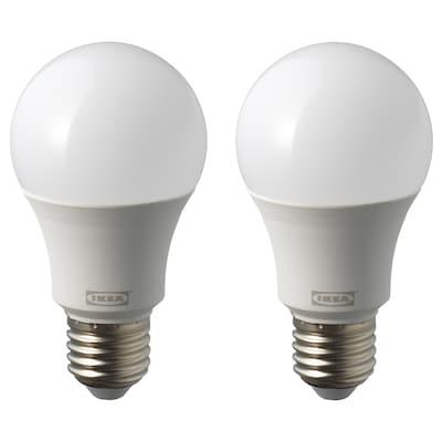 RYET LED bulb E27 1000 lumen, globe opal white, 4000 K
