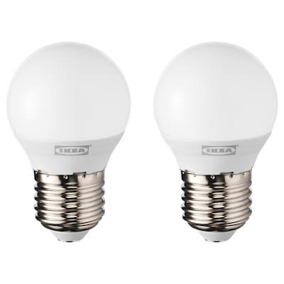 RYET LED bulb E27 200 lumen, globe opal white