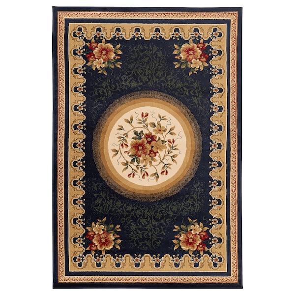 RYSLINGE rug, low pile multicolour 235 cm 160 cm 1.5 cm 1.93 m² 3307 g/m²