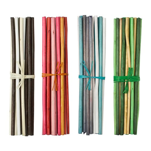 SALTIG Decoration stick IKEA The sticks are a nice decoration in a vase and gives a pleasant fragrance to your home.