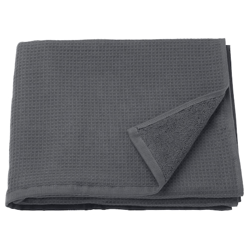 SALVIKEN bath towel anthracite 500 g/m² 140 cm 70 cm 0.98 m² 500 g/m²