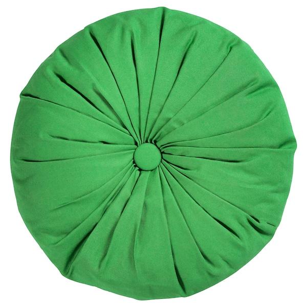 SAMMANKOPPLA Cushion, round green, 40 cm