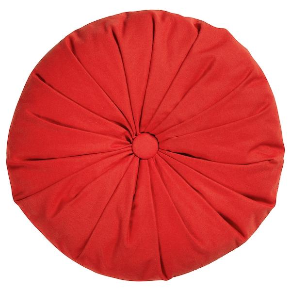 SAMMANKOPPLA Cushion, round red, 40 cm