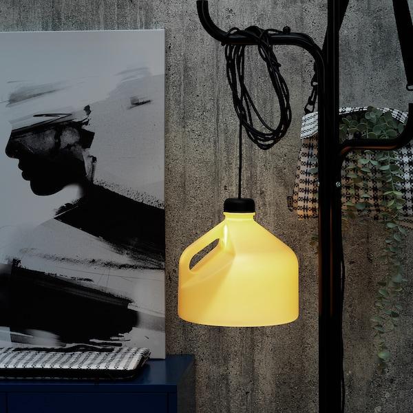 SAMMANKOPPLA LED multi-use lighting, yellow