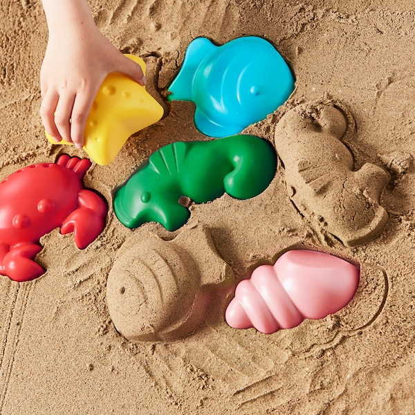 SANDIG Sand mould, sea creatures
