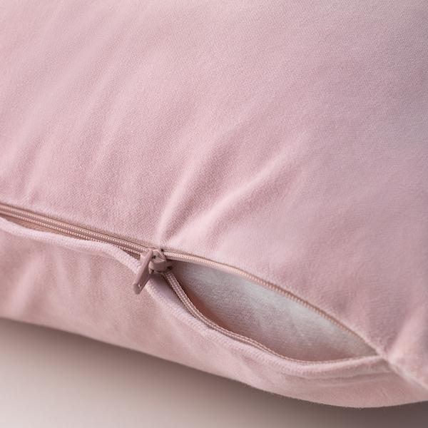 SANELA غطاء وسادة, زهري فاتح, 50x50 سم
