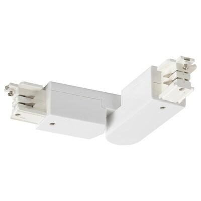 SKENINGE Angled connector, white