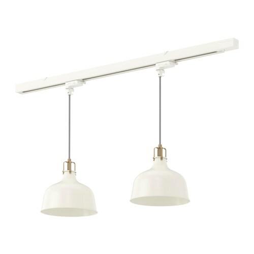 SKENINGE RANARP Track With 2 Pendant Lamps IKEA