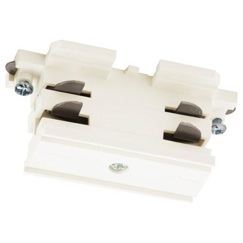 SKENINGE straight connector white 3680 W