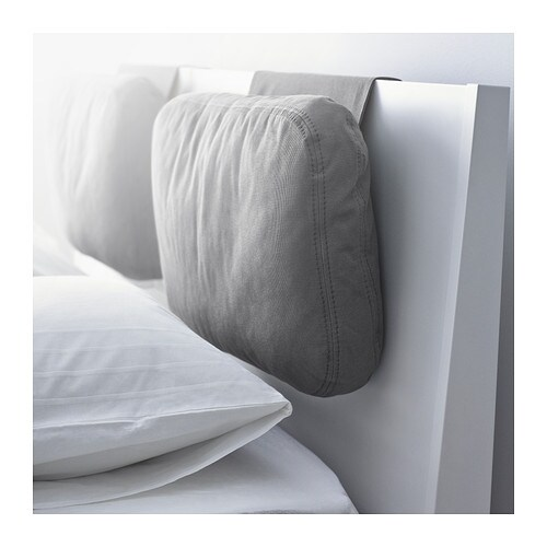SKOGN Cushion IKEA Adds comfort to your headboard.   Great if you sit up and read or watch TV.