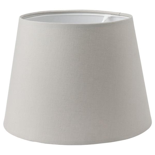 SKOTTORP غطاء مصباح, رمادي فاتح, 33 سم