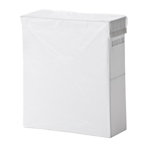 SKUBB Laundry bag with stand, white