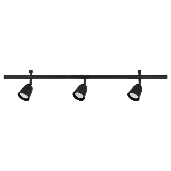 SKURUP Ceiling track, 3-spots, black
