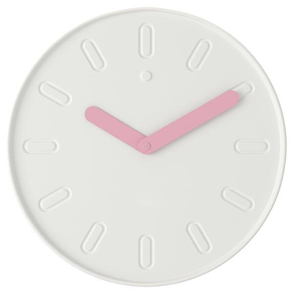 SLIPSTEN ساعة حائط, أبيض, 35 سم