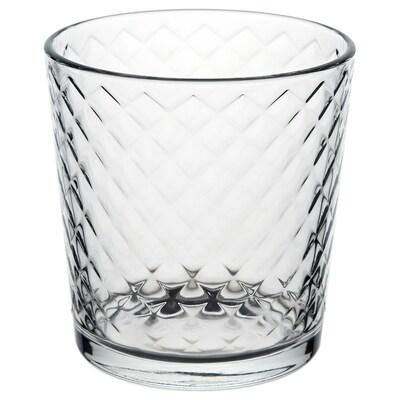 SMÅRISKA كأس, زجاج شفاف, 25 سل