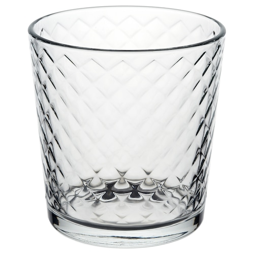 SMÅRISKA whiskey glass clear glass 8.4 cm 25 cl