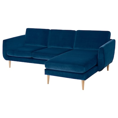SMEDSTORP 3-seat sofa with chaise longue