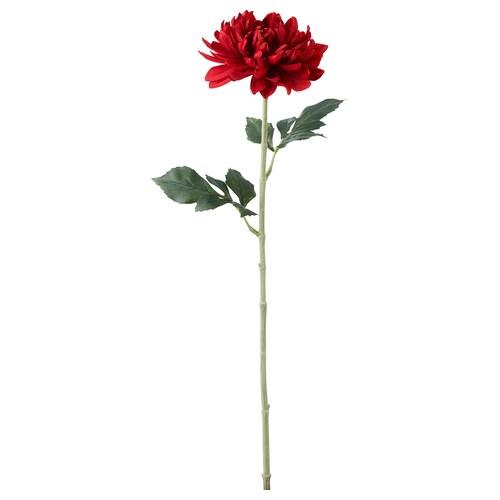 SMYCKA artificial flower Dahlia/red 75 cm