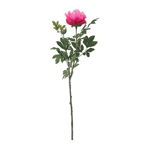 SMYCKA Artificial flower, Peony, dark pink