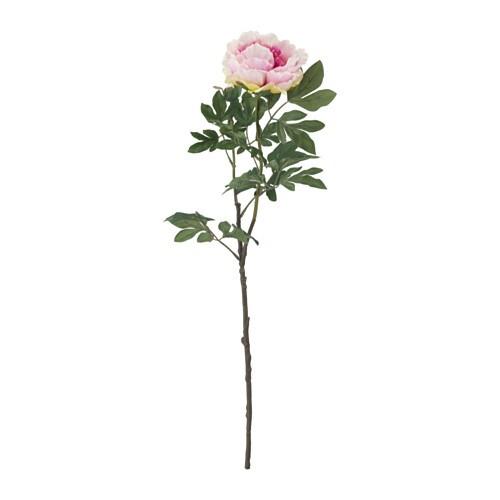 SMYCKA Artificial flower, Peony, light lilac