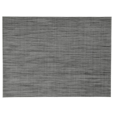 SNOBBIG مفرش أطباق, رمادي غامق, 45x33 سم