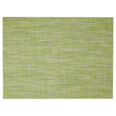 SNOBBIG Place mat, green, 45x33 cm