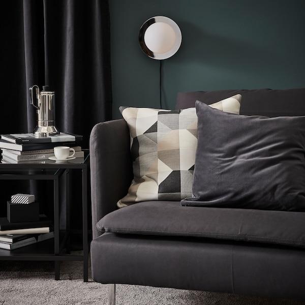 SÖDERHAMN 3-seat sofa, Samsta dark grey