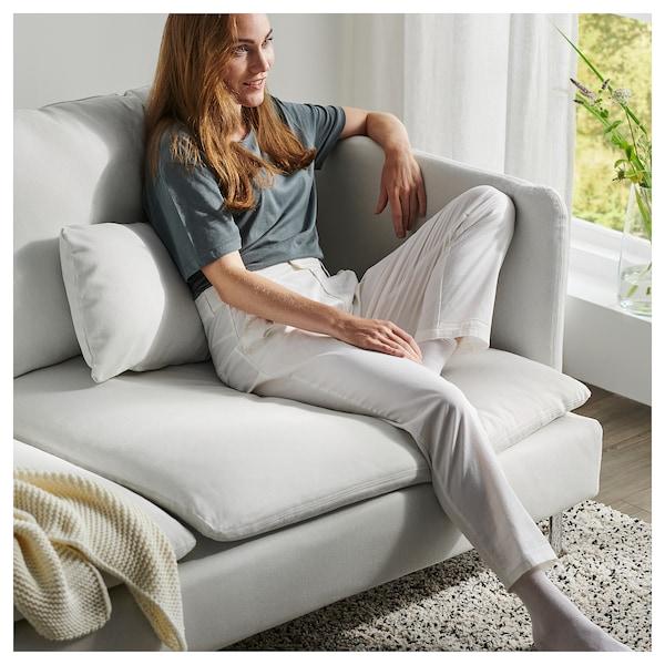 SÖDERHAMN 4-seat sofa, with chaise longue/Finnsta white