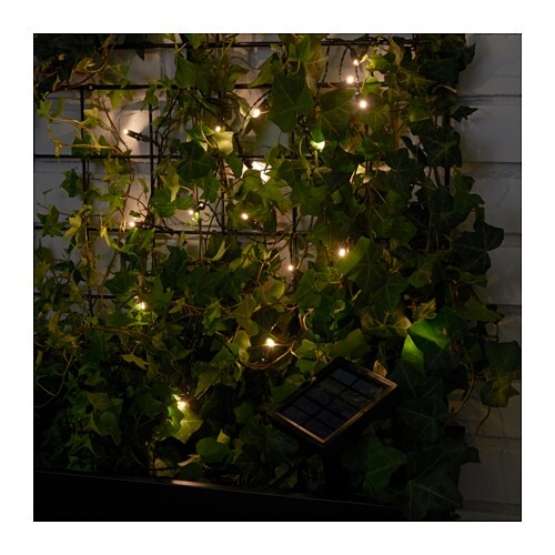 Solarvet led lighting chain with 24 lights ikea solarvet led lighting chain with 24 lights ikea you can personalise the lighting chain to match aloadofball Choice Image