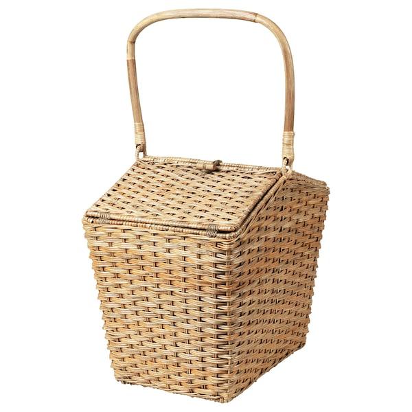 SOLBLEKT Cool basket, rattan