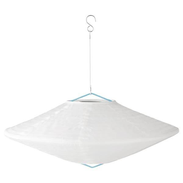 SOLVINDEN LED solar-powered pendant lamp, outdoor globe/diamond-shaped, 45 cm