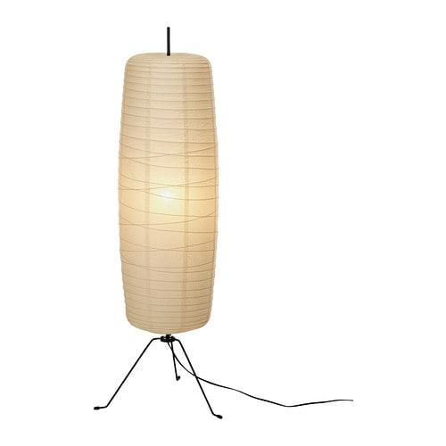 SÖRE Floor lamp IKEA Gives a soft mood light.