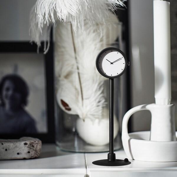 STAKIG ساعة, أسود, 16.5 سم