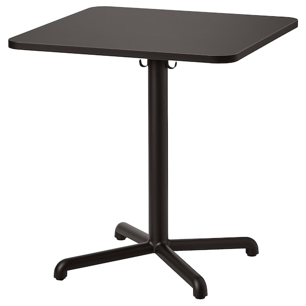 STENSELE طاولة, فحمي/فحمي, 70x70 سم