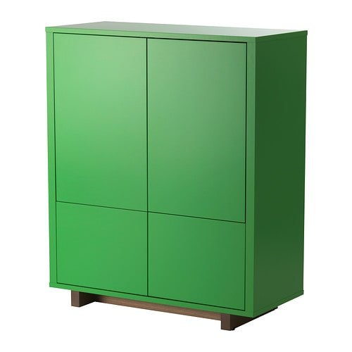 stockholm cabinet with 2 drawers green ikea. Black Bedroom Furniture Sets. Home Design Ideas