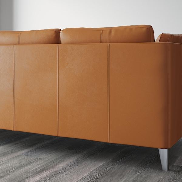 STOCKHOLM Three-seat sofa, Seglora natural