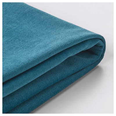 STOCKSUND Cover for bench, Ljungen blue
