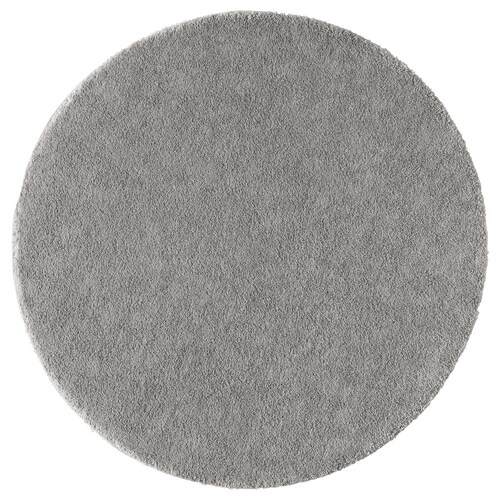 STOENSE rug, low pile medium grey 130 cm 18 mm 1.33 m² 2560 g/m² 1490 g/m² 15 mm
