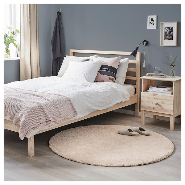 STOENSE rug, low pile off-white 130 cm 18 mm 1.33 m² 2560 g/m² 1490 g/m² 15 mm