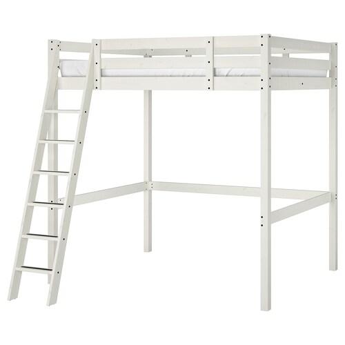 STORÅ loft bed frame white stain 213 cm 171 cm 152 cm 214 cm 200 cm 140 cm