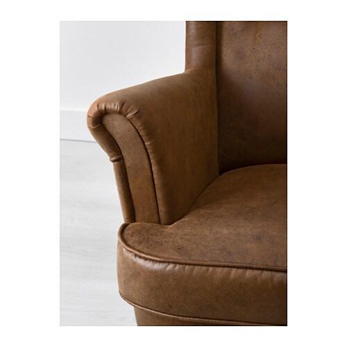 Ohrensessel ikea braun  STRANDMON Wing chair - IKEA