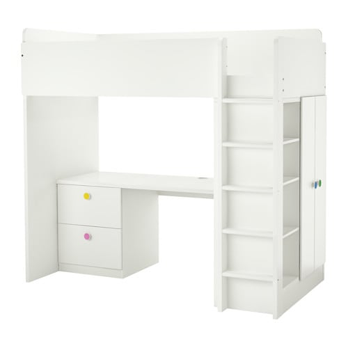 stuva f lja loft bed combo w 2 drawer 2 doors ikea. Black Bedroom Furniture Sets. Home Design Ideas