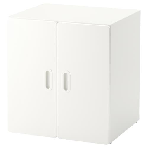 STUVA / FRITIDS cabinet white/white 60 cm 50 cm 64 cm
