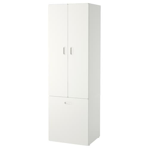 STUVA / FRITIDS wardrobe with toy storage white/white 60 cm 50 cm 192 cm