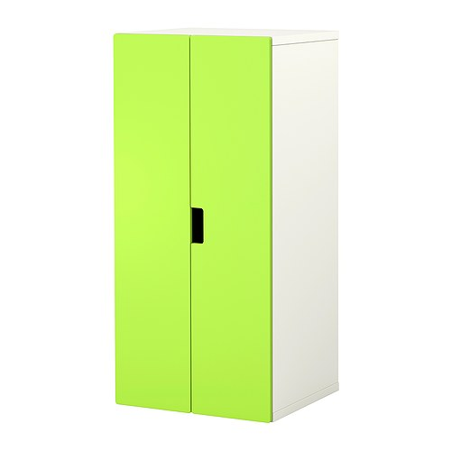 STUVA Storage combination with doors IKEA Low storage makes it easier for children to reach and organise their things.