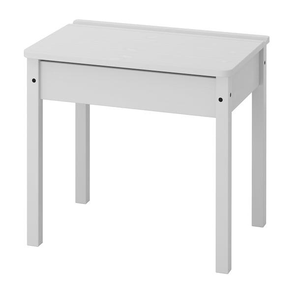 SUNDVIK Children's desk, grey, 60x45 cm