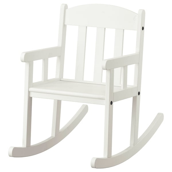 SUNDVIK كرسي هزّاز, أبيض