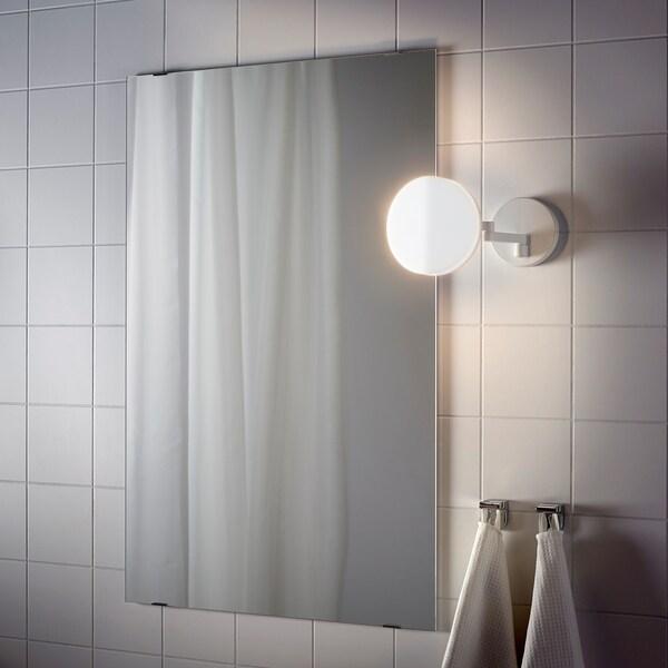 SVALLIS مصباح جداري LED مع ذراع متحركة, أبيض, 15 سم